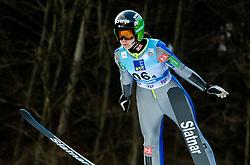 Ursa Bogataj of Slovenia competes during Team Competition at Day 2 of World Cup Ski Jumping Ladies Ljubno 2019, on February 9, 2019 in Ljubno ob Savinji, Slovenia. Photo by Matic Ritonja / Sportida