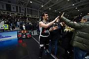 Ricci Giampaolo ,  <br /> LegaBasket Serie A 2019/2020<br /> 13° Giornata - Andata - 15/12/2019 <br /> Segafredo Virtus Bologna - Happy Casa Brindisi 99-87<br /> Bologna Virtus Segafredo Arena14/12/2019 Ore 20:30<br /> foto GiulioCiamillo/Ciamillo