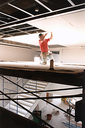 Kinights of Columbus Museum New Haven CT. Progress Construction image for Petra Construction Corporation, North Haven, Connecticut