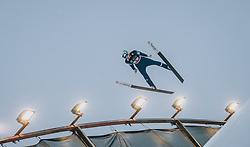 29.02.2020, Salpausselkae Hill, Lahti, FIN, FIS Weltcup Ski Sprung, Herren, Teamspringen, im Bild Timi Zajc (SLO) // Timi Zajc of Slovenia during the men's team event of FIS Ski Jumping World Cup at the Salpausselkae Hill in Lahti, Finland on 2020/02/29. EXPA Pictures © 2020, PhotoCredit: EXPA/ JFK