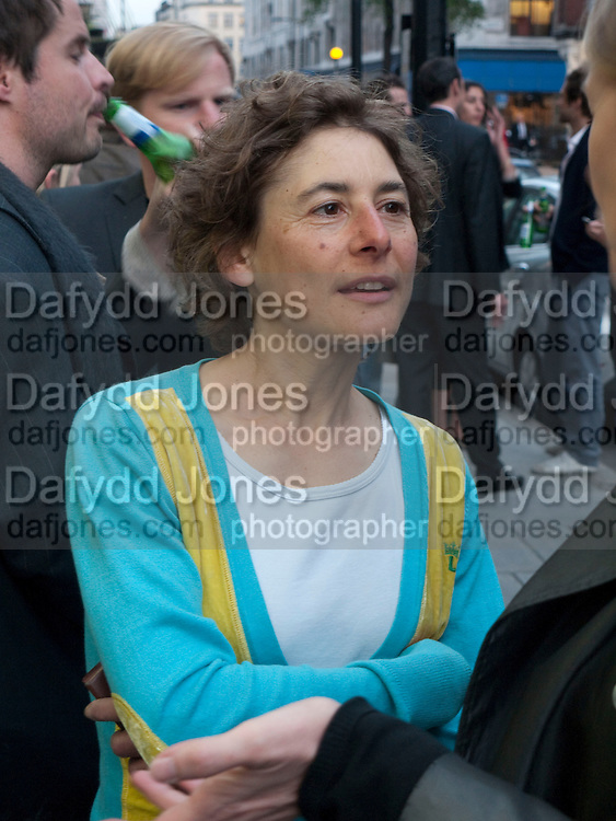 CATHERINE YASS, Haluk Akakce; Coming Home. Exhibition of work at the Alison Jacques Gallery. 29 April 2010. *** Local Caption *** -DO NOT ARCHIVE-© Copyright Photograph by Dafydd Jones. 248 Clapham Rd. London SW9 0PZ. Tel 0207 820 0771. www.dafjones.com.<br /> CATHERINE YASS, Haluk Akakce; Coming Home. Exhibition of work at the Alison Jacques Gallery. 29 April 2010.