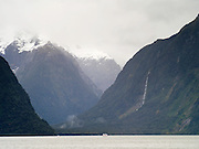View of Mount Pembroke, Fiordland National Park, New Zealand