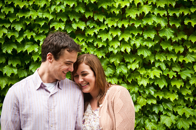 28 May 2011 - Brian Kronberg and Steph Millward's engagement session in downtown Omaha at the Bemis Center for Contemporary Arts.