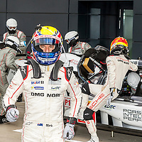 Mark Webber with #17 Porsche 919 Hybrid at the FIAWEC 6 Hours of Silverstone 2015
