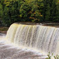 """Falls of Tahquamenon""<br /> <br /> Upper Tahquamenon Falls in early fall!!<br /> <br /> Waterfalls by Rachel Cohen"