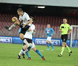 January 2, 2018 - The Atalanta Castagna player makes a ball of the ball while he is in the airNaples, Italy, Atalanta wins at the San Paolo against Napoli and passes the turn (Credit Image: © Fabio Sasso via ZUMA Wire)