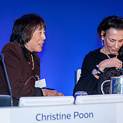 NLD/Amsterdam/20180503 - Aandeelhoudersvergadering Royal Philips 2018, Christine Poon en Orit Gadiesh