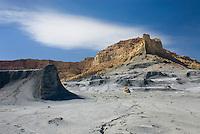 Badlands of Nipple Bench in Glen Canyon National Recreation Area Utah
