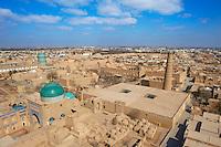 Ouzbekistan, Khiva, patrimoine mondial de l UNESCO, vue generale // Uzbekistan, Khiva, Unesco World Heritage, general view