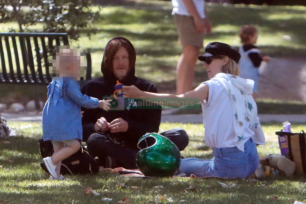 Diane Kruger and Boyfriend Norman Reedus takes their kid out to the park in Beverly Hills **SPECIAL INSTRUCTIONS*** Please pixelate children's faces before publication.***. 30 May 2020 Pictured: Diane Kruger and Boyfriend Norman Reedus takes their kid out to the park in Beverly Hills. Photo credit: MEGA TheMegaAgency.com +1 888 505 6342