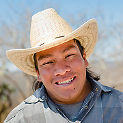 Young Zapotec man from Oaxaca, Mexico