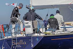 , Maibock Regatta 05. - 06.05.2018, ORC - SMILLA - GER 5166 - LUFFE 43 - Heinrich MEINERS - Sail-Lollipop Regatta Verein  e.V
