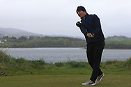 Giovanni Siani (Circolo Golf Villa d'Este)(ITA) on the 6th tee during Round 3 of the Ulster Boys Championship at Donegal Golf Club, Murvagh, Donegal, Co Donegal on Friday 26th April 2019.<br /> Picture:  Thos Caffrey / www.golffile.ie