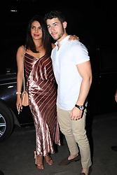 EXCLUSIVE: Priyanka Chopra and Nick Jonas are joined by brother Joe and his girlfriend Sophie Turner at a pre wedding party in India. 26 Nov 2018 Pictured: Nick Jonas and Priyanka Chopra. Photo credit: Varinder Chawla/MEGA TheMegaAgency.com +1 888 505 6342