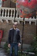 IDRIS KHAN OUTSIDE BRITISH PAVILION,  Venice Biennale, 10 May 2017