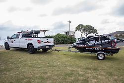 Lifeguard Vehicles, Sandy Beach Park
