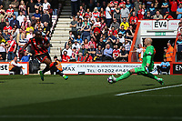 Football - 2016 / 2017 Premier League - AFC Bournemouth vs. Middlesbrough<br /> <br /> Bournemouth's Benik Afobe slots in Bournemouths second at the Vitality Stadium (Dean Court) Bournemouth<br /> <br /> COLORSPORT/SHAUN BOGGUST