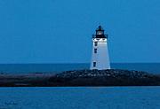 Fayerweather Island Light on Spring Equinox