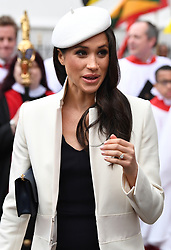 Members of The Royal Family attend the Commonwealth Day Observance Service at Westminster Abbey, London, UK, on the 12th March 2018. 12 Mar 2018 Pictured: Meghan Markle. Photo credit: James Whatling / MEGA TheMegaAgency.com +1 888 505 6342