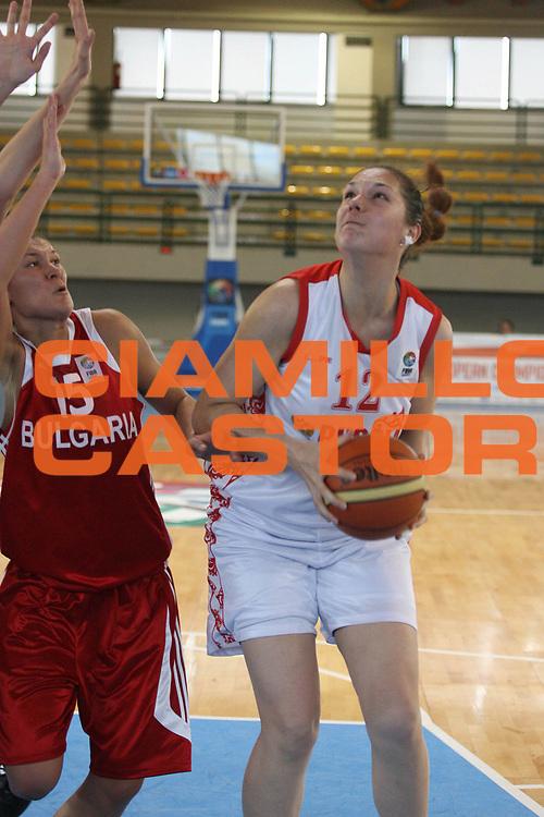 DESCRIZIONE : Sulmona U20 European Championship Women Preliminary Round Russia Bulgaria<br /> GIOCATORE : Olga Zhuzhgova<br /> SQUADRA : Russia<br /> EVENTO : Sulmona U20 European Championship Women Preliminary Round Russia Bulgaria Campionato Europeo Femminile Under 20 Preliminari Russia Bulgaria<br /> GARA : Russia Bulgaria<br /> DATA : 12/07/2008 <br /> CATEGORIA : tiro<br /> SPORT : Pallacanestro <br /> AUTORE : Agenzia Ciamillo-Castoria/M.Marchi<br /> Galleria : Europeo Under 20 Femminile <br /> Fotonotizia : Sulmona U20 European Championship Women Preliminary Round Russia Bulgaria<br /> Predefinita :