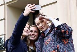 March 5, 2018 - Paris, France - US model Bella Hadid poses for selfies in Paris, France, on March 5, 2018. (Credit Image: © Mehdi Taamallah/NurPhoto via ZUMA Press)