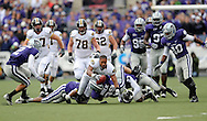 MANHATTAN, KS - NOVEMBER 14:  Wide receiver Danario Alexander #81 of the Missouri Tigers dives for extra yardage and a first down after losing his helmet durng the fourth quarter against the Kansas State Wildcats on November 14, 2009 at Bill Snyder Family Stadium in Manhattan, Kansas.  (Photo by Peter G. Aiken/Getty Images)