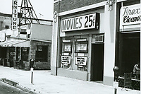 1975 Movies 25 Cents on Western Ave.