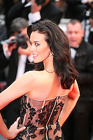 Megan Gale at the red carpet for the gala screening of Jimmy P. Psychotherapy of a Plains Indian film at the Cannes Film Festival 18th May 2013