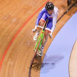 27-12-2017: Wielrennen: NK Baan: Alkmaar<br /> Roxane Kneteman pakt zilver op de klassementswedstrijd
