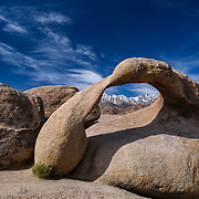 Mobius Arch And Mt. Whitney - Alabama Hills, CA