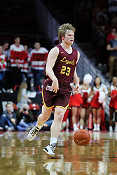 NORMAL, IL - February 02: Cooper Kaifes during a college basketball game between the ISU Redbirds and the University of Loyola Chicago Ramblers on February 02 2019 at Redbird Arena in Normal, IL. (Photo by Alan Look)