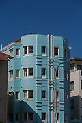 Sydney, Australia. Sunday124th January 2021. Art Deco Apartmrnts facing Bondi Beach, Sydney, Australia.