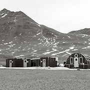 We hiked from Lake Hoare around the terminus of the Canada Glacier to Lake Fryxell to visit the science camp. The camp was unoccupied at the time but soon would be with LTER scientists and researchers. The smaller buildings are individual labs used by researchers. The NSF seems to have gone this way on several of the stations I visited, a modular approach to field camp labs.