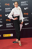 092021 69th San Sebastian International Film Festival: 'I want to talk about Duras' Red Carpet