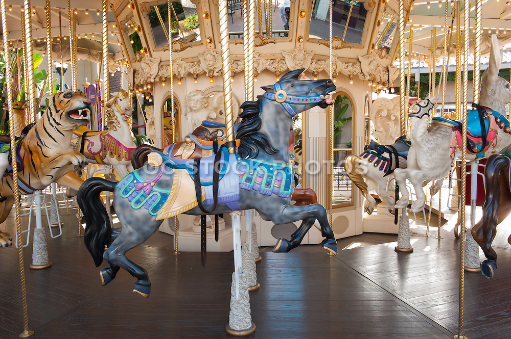 Newport Beach Carousel at Balboa Fun Zone