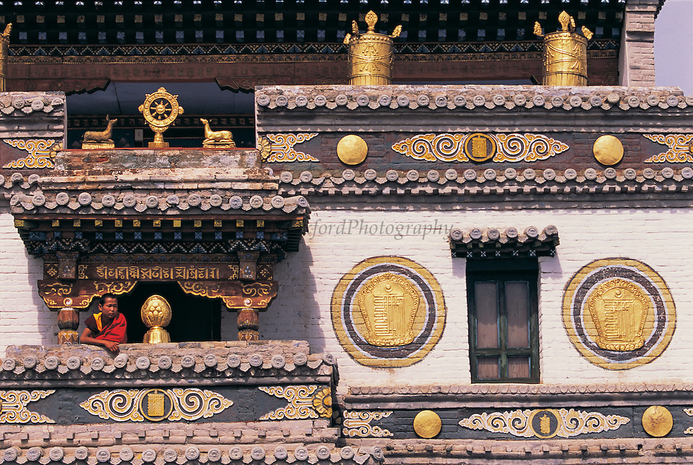 Lavern Sum Tibetan Temple & Monk<br /> Eden Kuu Khiid Monastery<br /> Kara Korum<br /> Central Mongolia