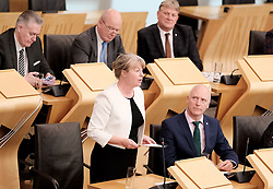 "First Minister's Questions in the Scottish Parliament<br /> <br /> Thursday, 19th September 2019<br /> <br /> Pictured: Shona Robinson<br /> <br /> HOLYROOD MARKS FIRST ANNIVERSARY OF SOCIAL SECURITY SCOTLAND<br />  <br /> ""FAIRNESS, DIGNITY AND RESPECT"" NOW AT HEART OF SYSTEM<br />  <br /> The Scottish Parliament celebrated the first anniversary of Social Security Scotland, in a debate led by SNP MSP Shona Robison.<br />  <br /> The agency made its first payments in September 2018, delivering the Carer's Allowance Supplement – which has helped around 77,500 people - and the Best Start Grant - which has supported almost 10,000 low-income families.<br />  <br /> Social Security Scotland will also deliver a new £10 Scottish Child Payment - described as a ""game changer"" by anti-poverty campaigners and estimated to lift 30,000 children out of poverty – ahead of schedule in 2020.<br />  <br /> Speaking in the debate, Shona Robison MSP said:<br />  <br /> ""It was a proud moment for me when this parliament passed the Social Security (Scotland) Bill. <br />  <br /> ""It was a proud moment for all of us who want to see a fairer, more respectful and dignified Scotland.<br />  <br /> ""The first year has been a success – bringing over 700 jobs to my constituency in Dundee, and delivering face to face support to those who need it.<br />  <br /> ""Let's not forget the words of the UN's Special Rapporteur on extreme poverty and human rights who said that UK Government compassion for those who are suffering has been replaced by a punitive, mean-spirited, and often callous approach to welfare.<br />  <br /> ""And to that end, I echo Social Security Secretary Shirley-Anne Somerville when she calls for all social security to be devolved to Scotland to create a system with the people of Scotland for the people of Scotland.''   <br />  <br /> ""The UN letter declares that the poverty is a political choice. Let's choose to end poverty.""<br />  <br /> ENDS<br /> <br /> Notes:<br />  <br /> Members' Business — S5M-18758 Shona Robison: Social Security Scotland First Anniversary<br /> <br /> That the Parliament notes that it has been one year since Social S"