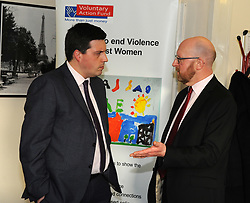 Employability Minister Jamie Hepburn visited the head offices of the Voluntary Action Fund (VAF) to open applications for the Workplace Equality Fund.<br /> <br /> The £500,000 fund will offer grants to private and third sector organisations to reduce employment inequalities, discrimination and barriers for minority ethnic people, women, disabled people and older workers.<br /> <br /> During the visit the Minister met staff from VAF, took a tour of the facility and received a demonstration of the online application system.<br /> <br /> Jamie Hepburn MSP with Keith Wimbles Chief Exec VAF<br /> <br /> (c) David Wardle | Edinburgh Elite media