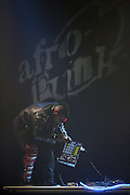Cx Kidtronix at The Afro-Punk Tour featuring Saul Williams held at The Blender Theater on October 21, 2009
