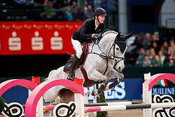 STAUT Kevin (FRA), Fleurbelle N<br /> Leipzig - Partner Pferd 2018   <br /> Equiline Youngster Tour 2. Qualifikation für 8 jährige Pferde<br /> © www.sportfotos-lafrentz.de/Stefan Lafrentz
