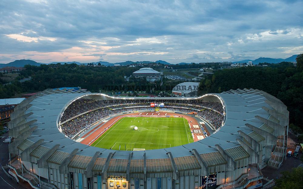 SAN SEBASTIAN, SPAIN - SEPTEMBER 28:  A general view of the new Anoeta Stadium on September 28, 2014 in San Sebastian, Spain.  (Photo by Juan Manuel Serrano Arce/Getty Images)