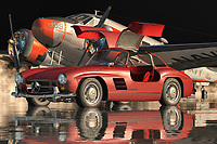 The Mercedes 300SL Gullwing is the most desirable classic car. With its sleek body lines, the car exudes a sense of elegance and class. In addition to that, the design of the car is truly art by avant-garde artist Antoni Gaudi. This luxurious automobile has always been the most sought after classic car of its time.<br /> <br /> The car's silhouette is a futuristic design that is made of a combination of three basic car materials; aluminum, magnesium, and fiberglass. It also has a carbon-fiber roof and floor panels which are further complemented with LED headlamps, rear diffusers, side skirts, side vents, and front bumper vents. The interior of the car has a suede and leather material to give it the classy and expensive look. The interior is also equipped with large LCD screens, which shows the traffic counts and speed limits. To add to that the engine compartment of the Mercedes is illuminated to ensure visibility even in the low light conditions.<br /> <br /> The exterior of the car has the classic two-piece hood which has integrated side grilles and an elegant chrome side skirt. The hood also has single side vents as well as a functional rear headlight. The whole car is elegantly designed to give it the best aerodynamic performance and to emit the aura of classiness. All the parts of the Mercedes 300SL Gullwing are made out of high performance lightweight materials to provide the greatest strength and durability.