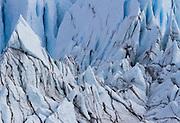 The toe of the Matanuska Glacier in Southcentral Alaska.