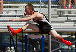 boys 300 meter hurdles, Maine State Track & FIeld Meet - Class B