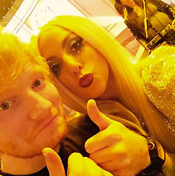 """Lady Gaga releases a photo on Instagram with the following caption: """"What an incredible talented artist I LOVE ED @teddysphotos deserves all our love and respect like all humans do. I wish all people on the internet would be positive and loving and apart of creating an online community that is kind and empowering, not hateful and mean. No reason to tear down an artist simply because they are on top. Work harder to be kinder everybody. That should be your first duty to humanity."""". Photo Credit: Instagram *** No USA Distribution *** For Editorial Use Only *** Not to be Published in Books or Photo Books ***  Please note: Fees charged by the agency are for the agency's services only, and do not, nor are they intended to, convey to the user any ownership of Copyright or License in the material. The agency does not claim any ownership including but not limited to Copyright or License in the attached material. By publishing this material you expressly agree to indemnify and to hold the agency and its directors, shareholders and employees harmless from any loss, claims, damages, demands, expenses (including legal fees), or any causes of action or allegation against the agency arising out of or connected in any way with publication of the material."""