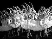 """English National Ballet in Derek Deane's """"Swan Lake"""" <br /> Choreography: Derek Deane<br /> Music: Pietr Ilyich Tchaikovsky"""