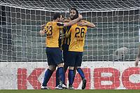 esultanza gol Luca Toni Hellas Verona Goal celebration <br /> Verona 20-12-2015 Stadio Bentegodi Football Calcio Serie A 2015/2016 Hellas Verona - Sassuolo<br /> foto Daniele Buffa/Image Sport/Insidefoto