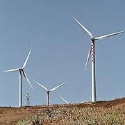 Generatori eolici in Sicilia..Wind turbin in Sicily