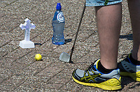 AMSTERDAM - EUGC , Het European Urban Golf Championships, Europese Kampioenschap Urban Golf op het oude NDSM terrein. COPYRIGHT KOEN SUYK
