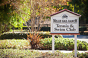 Nellie Gail Ranch Tennis & Swim Club Signage and Entrance